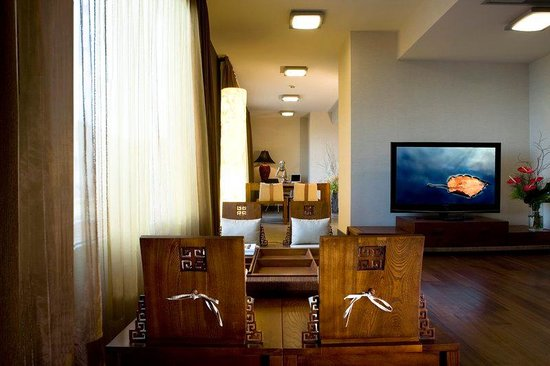 Suite Living Room at Nippon Hotel Istanbul