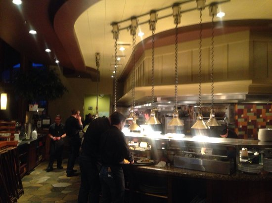Greg's Grill: Very Busy Kitchen