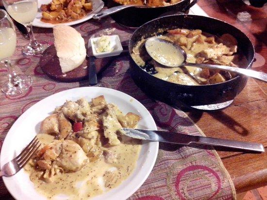 Isabel - Cocina al Disco: pollo a la mostaza