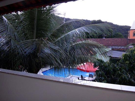 Pousada Recreio da Praia: vista desde el balcon de la habitacion 9