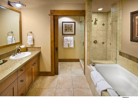 Iron Horse - Tahoe Mountain Lodging : Typical bathroom