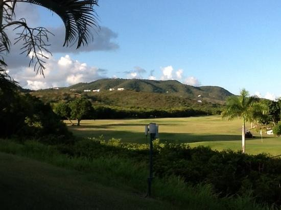 The Buccaneer St Croix: Mountain view