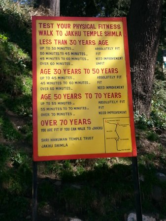 Jakhu Temple: Test your fitness for temple