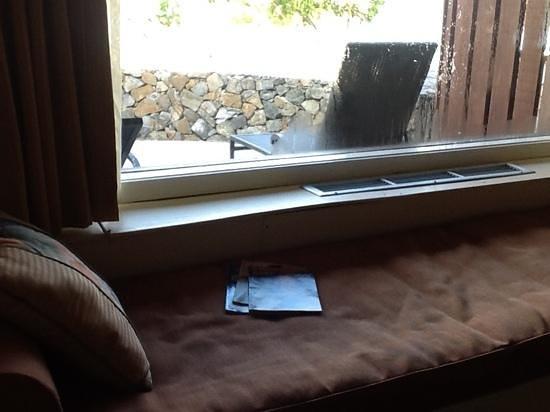 The Buccaneer St Croix: Bay window view
