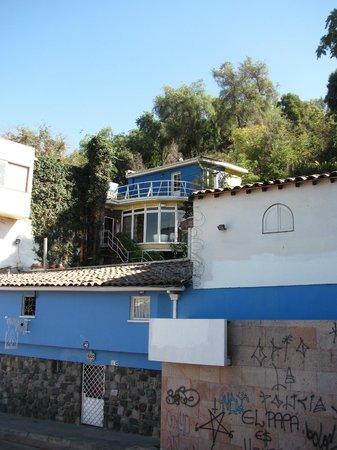 La Chascona (maison de Pablo Neruda) : La Chascona (Santiago).