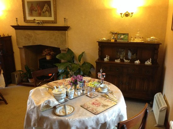Stafford House : beautiful dining area