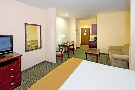 Holiday Inn Express Hotel & Suites Willcox : King Suite w/Microwave & Refrigerator