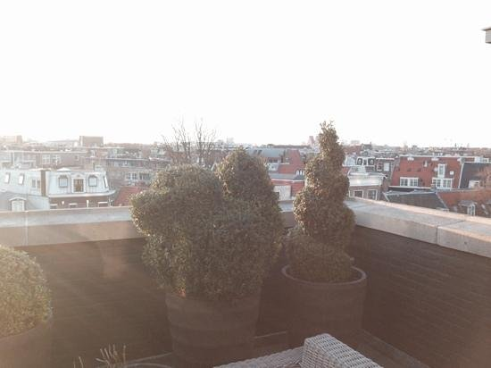 Andaz Amsterdam Prinsengracht: view from the balcony