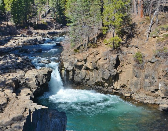 Shasta-Trinity National Forest: Middle Falls