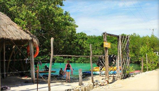 Casa Cenote : Front gate