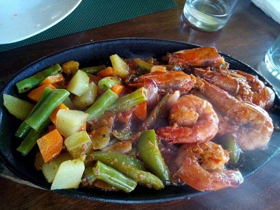 Tribal Hills Mountain Resort : Spicy Prawns...