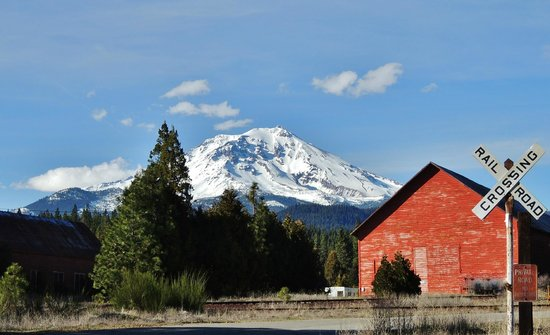 "Mount Shasta: ""The"" mighty Mt. Shasta"