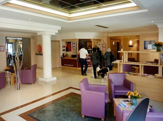Appart'Hôtel Odalys L'Atrium : Lobby