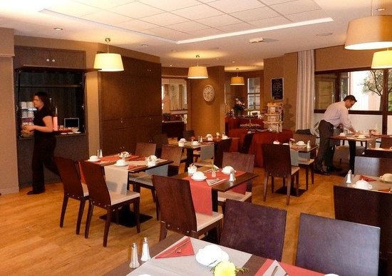Appart'Hôtel Odalys L'Atrium : Restaurant