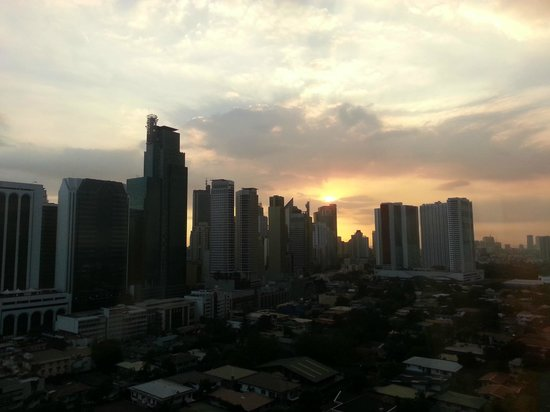 City Garden Hotel Makati: View from Executive Deluxe Room