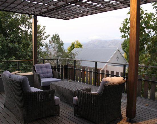 Angala Boutique Hotel and Guest House: Restaurant balcony