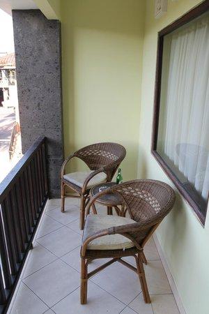 Grand Sinar Indah Hotel: Balcony room 523