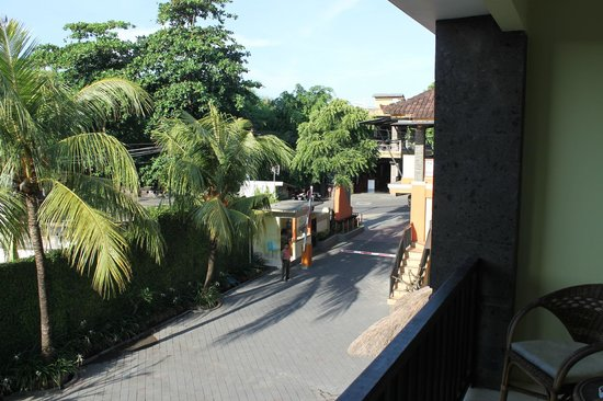 Grand Sinar Indah Hotel : View from balcony