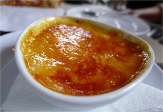 Tavolata: crème brûlée