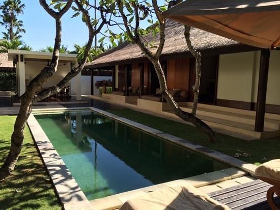 The Legian Bali: villa du club