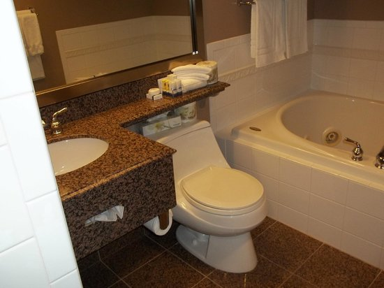BEST WESTERN PLUS Columbia River Hotel : Bathroom