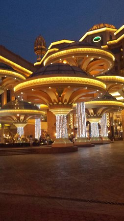 Sunway Pyramid Hotel: Night time view