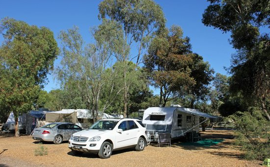 BIG4 Port Willunga Tourist Park: Huge shady sites