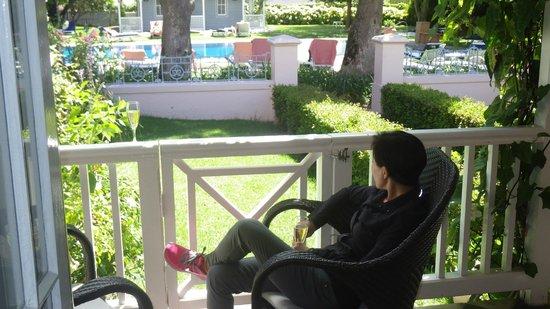 Belmond Mount Nelson Hotel: Cottage Balcony view