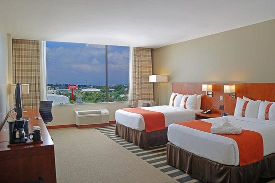 Holiday Inn San Jose-Escazu: Double Bed Guest Room