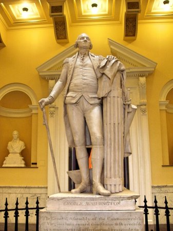 Virginia Capitol Building: George Washington