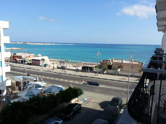 Negresco Hotel: view from my room
