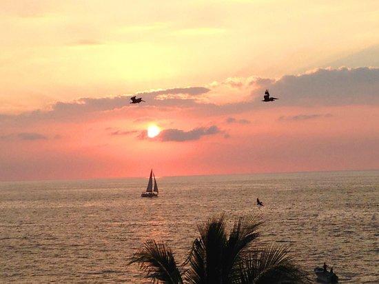 Rosita Hotel: beautiful sunset every day