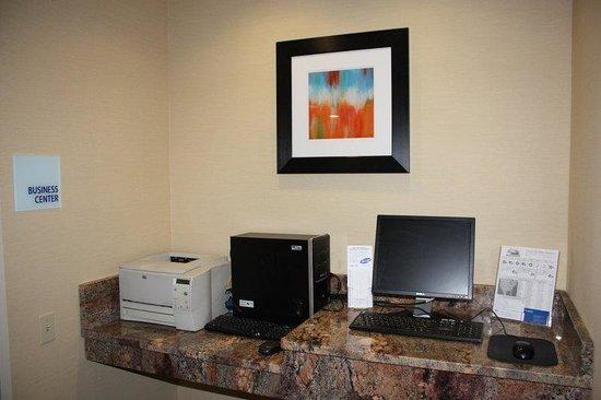 Holiday Inn Express Ludlow : Business Center
