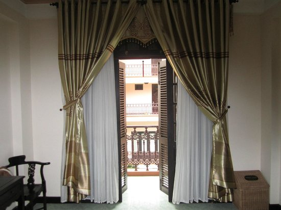 Van Loi Hotel : Picture of my room - the view from the balcony was nice