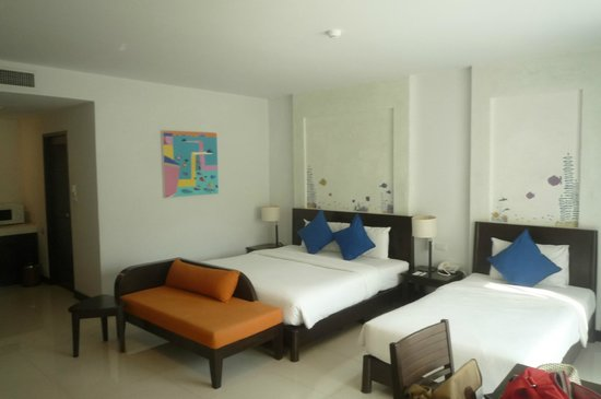 Krabi Aquamarine Resort & Spa : our room (free upgrade, not that it mattered)