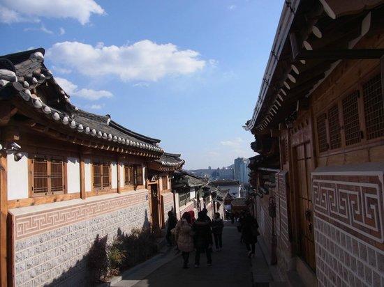 Bukchon : 北村韓屋村