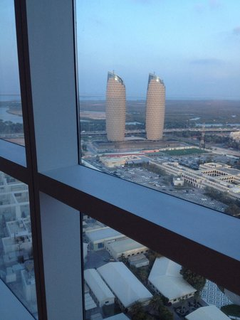 Dusit Thani Abu Dhabi : View from the room