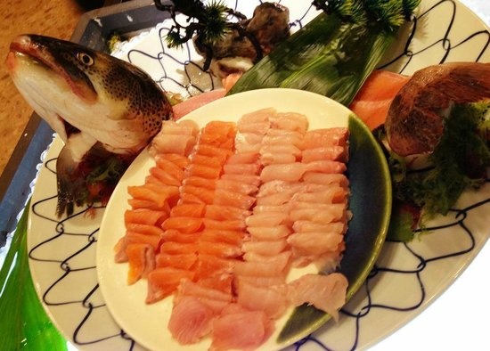 Forest of Akan Tsuruga Resort Hanayuuka: 食べ放題の北海道の海の幸