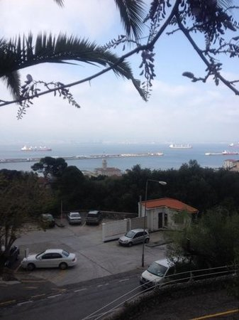 Rock Hotel Gibraltar : view from wisteria terrace