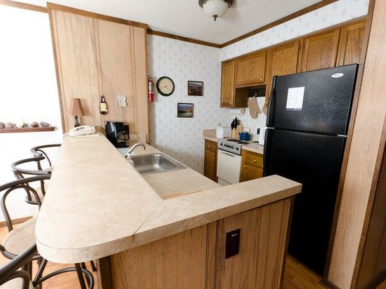 Top of the World Condos at Snowshoe: 1BR Economy Kitchen