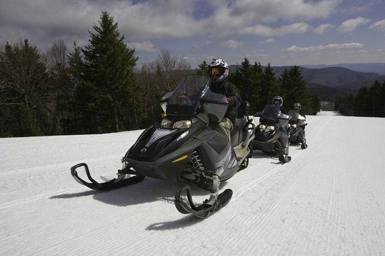 Top of the World Condos at Snowshoe: Snowmobiling
