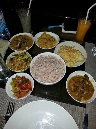 Handagedara Resort : Handagedara's Sri Lankan Curries and Rice