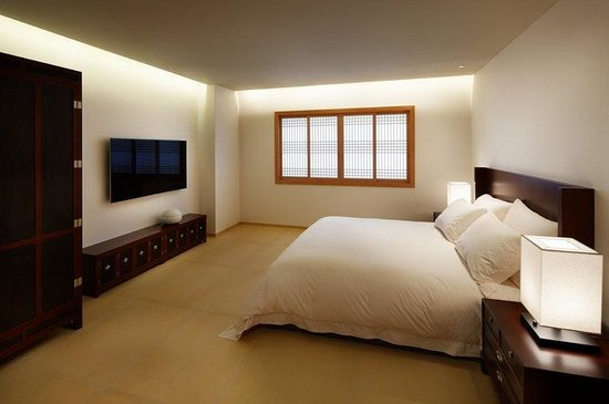 The Shilla Seoul: Korean Suite Bedroom