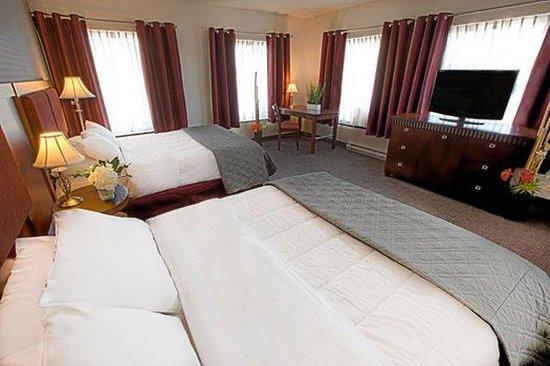 Hotel Universel Quebec: Deluxe Queenbeds