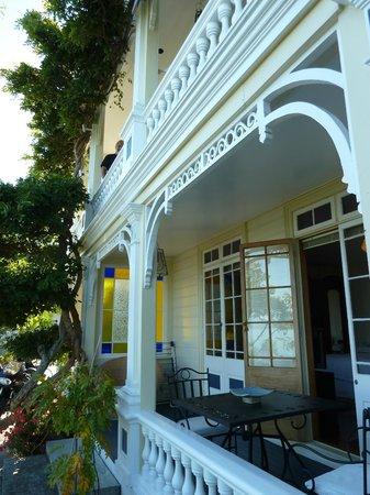 Te Puna Wai Lodge: building