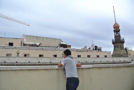 Quatro Puerta del Sol Hotel: View from the balcony