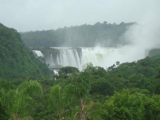 Melia Iguazu: les chutes vues de l'hôtel