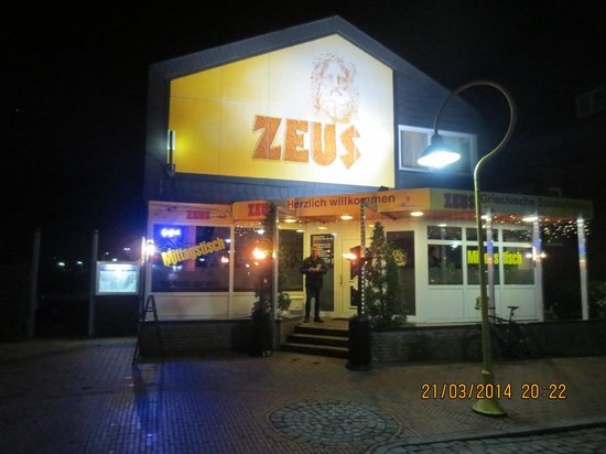 Restaurant Zeus: The restaurant entry