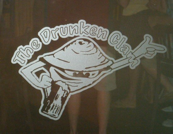 Drunken Clam: Bar logo