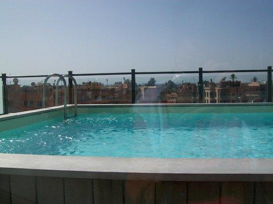 Hotel Almas : Den lilla poolen på takterrassen